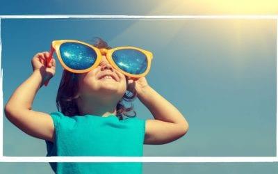 La importancia de las gafas de sol para niños